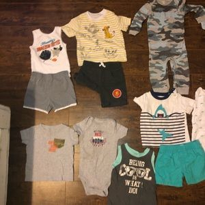 Baby Boy 12 Month Bundle Lot